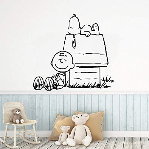 Tianpengyuanshuai vinyl meubelrol voor honden, groot huis, decoreer de kunst van de decoratie
