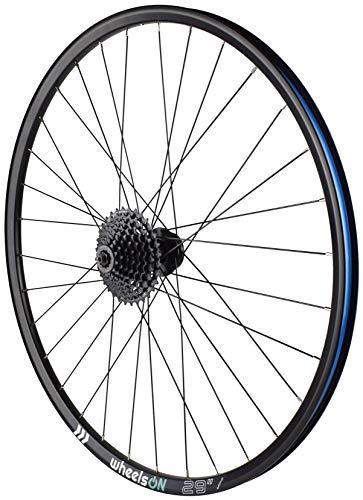 wheelsON 29er Rear Wheel Mountain Bike QR Disc+8 spd Shimano HG31 8 Cassette 32H Black