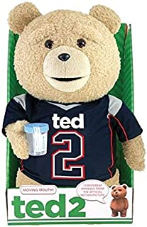 Ted 2 Ted in Jersey 16-Inch Animated Talking Plush Teddy Bear