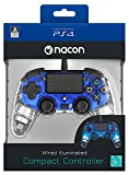 Nacon Manette Filaire compacte Lumineuse pour Playstation 4 - Accessoires de Jeux...