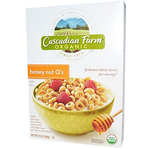 Cascadian Farm, Organic, Honey Nut O's, 9.5 oz