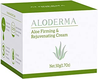 Aloderma Firming and Rejuvenating Cream 50g with Pure Organic Aloe Juice