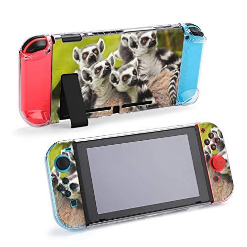Ring-Tailed Lemur Lemur Catta Ultradünne Konsolen-Controller Schutzgehäuse für Nintendo Switch Gaming-Zubehör