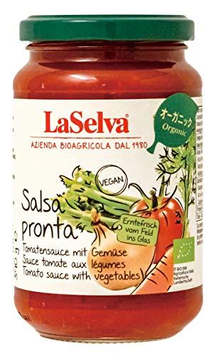 ラセルバ オーガニックパスタソース トマト 340g