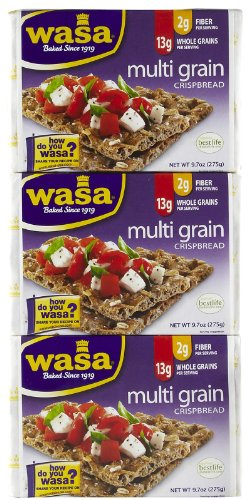 Wasa Crispbread Multi Grain Crispbread, 8.8 oz, 3 pk