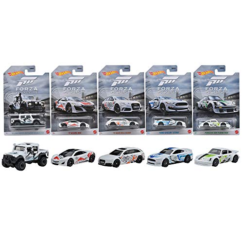 Hot Wheels Forza Set 5 Modellautos Xbox - 2020 1:64 GDG44 - 979M