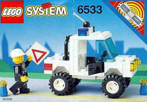LEGO Polizei 6533 Polizei-Pick-Up