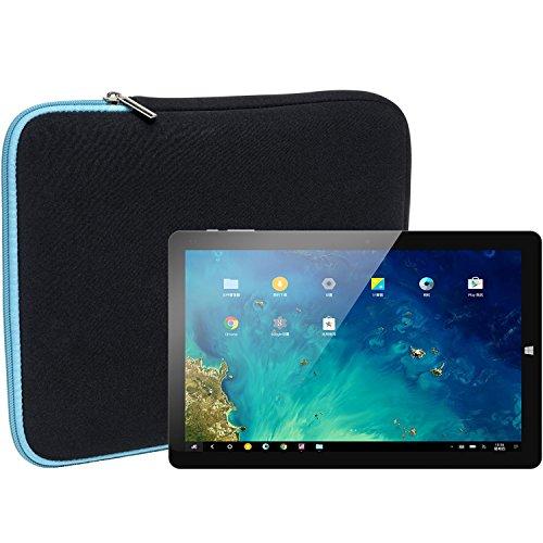 Slabo Tablet Tasche Schutzhülle für Chuwi Hi10 Pro Hülle Etui Case Phablet aus Neopren – TÜRKIS/SCHWARZ