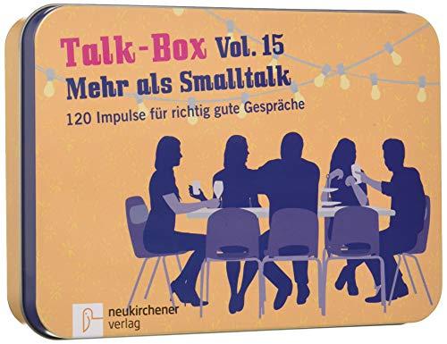 Talk-Box Vol. 15 - Mehr als Smalltalk. 120 Impulse für richtig gute Gespräche