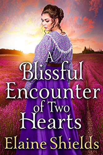 A Blissful Encounter of Two Hearts: A Historical Western Romance Book (English Edition)