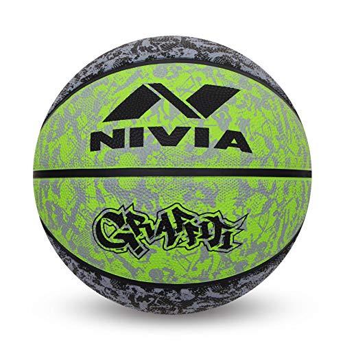 Nivia Graffiti Basketball – Size: 7
