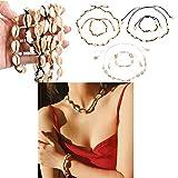 WOWOSS 6 Collares y pulseras de concha natural, conjunto de concha Bohemia hecha a mano, cuerda ajustable