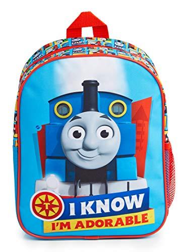 Thomas & Friends Mochilas Escolares, Mochila Niño de Thomas The Tank Engine, Material Escolar para Niños, Mochila Infantil para Guarderia Preescolar, Regalos para Niños y Niñas