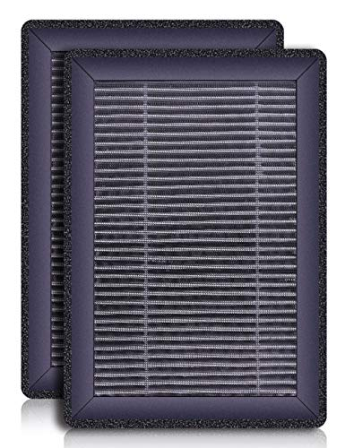 Redypure JR6 HEPA Air Filter 4.52x4.57x1.18inch Replacement Filter, 3-Stage Filtration System Include Pre-Filter,H13 True HEPA Filter, Activated Carbon Filter