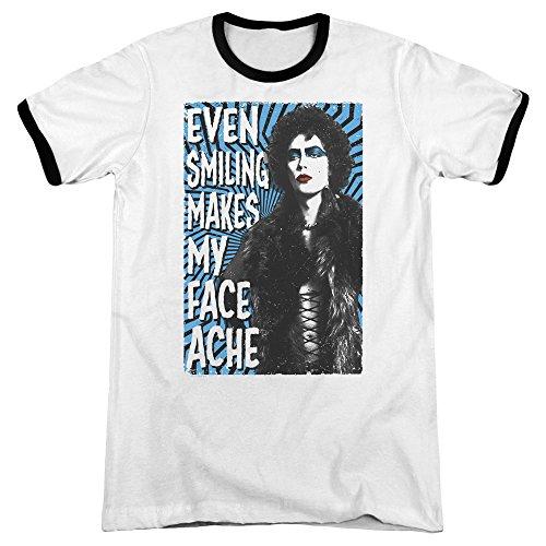Rocky Horror Picture Show Herren T-Shirt Gr. XXXL, weiß / schwarz