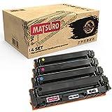 Matsuro Original | Compatible Cartucho de Toner Reemplazo para HP 205A CF530A CF531A CF532A CF533A (1 Set)