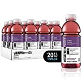vitaminwater revive, fruit punch flavored, electrolyte enhanced bottled water with vitamin b5, b6, b12, 20 fl oz, 12 pack