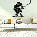 yaonuli Hockey Sticker Mural Autocollant décoration de la Maison Chambre Chambre de bébé décoration décoration de la Maison 43x46 cm