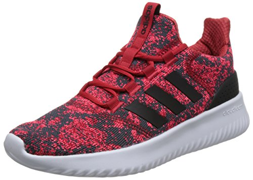 adidas Boys Cloudfoam Ultimate Competition Running Shoes, Red (Scarle/Cblack/Solred 000), 3.5 UK
