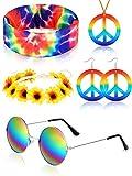Frienda Hippie Costume Set, Includes Hippie...