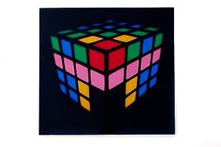 Sound Activated Flashing Light Up Down Speaker LED Panel with Sensor (Tetris)