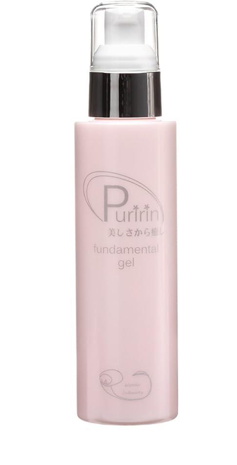 邪悪な付属品役員Puririn fundamental gel 天然セラミド含む5種のセラミド プリリンファンダメンタルゲル (120ml)