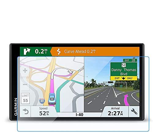 [2 Stück] Panzerglas Schutzfolie für Garmin DriveSmart 61 LMT-S LMT-D 61LMT-D 61LMT-S/Garmin RV 770 LMT-S - LFOTPP 9H Kratzfest Anti-Fingerprint Displayschutzfolie GPS Navi Folie Transparent