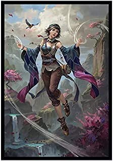 Mini Size - Izumi - Wind Mage - 100 Glossy TCG Card Sleeves (FN21M)
