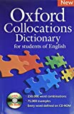 Oxford Collocations Dictionary - Second Edition: Oxford collocation dictionary. Con CD-ROM: A corpus-based dictionary with CD-ROM which shows the most ... combinations in British and American English.