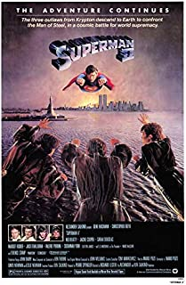 Superman 2 POSTER Movie (27 x 40 Inches - 69cm x 102cm) (1981) (Style B)
