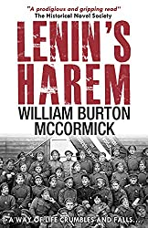 Lenin's Harem by William Burton Mccormick book cover with soldiers