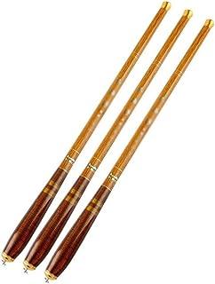 Ys-y ショップのカスタマイズ 超短いカーボンストリーム手錠ミニスカートハンドポーポケットフィッシングロッド釣りギヤ (Color : Brown, Size : 2.7)