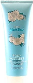 Parfums De Coeur Body Fantasies Signature Fresh White Musk Fragrance Moisturizing Lotion 7.0 Oz/ 207 Ml for Women By Parfums De Coeur, 7 Fl Oz