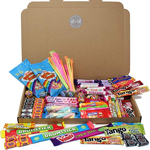 Box of 100 Mixed Childrens Sweets. Ideal Sweet Box for Birthday Parties, prizes, Party Bags, Pinata fillers (or You Could just eat Them Yourself)! Exclusive to Rixon and Bryce