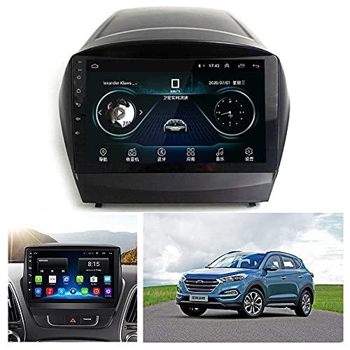 TCWDX ACEOLT Android 9.1 Car Stereo 1080P HD Reproductor Multimedia con Pantalla táctil para Hyundai IX35 2010-2015, Compatible con WiFi/GPS/FM/Bluetooth Car Radio y Mirror Link Navigation S