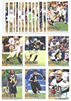2010 Topps New Orleans Saints Complete Team Set (19 Cards)