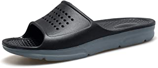 HSBUY Women's and Men's Anti Slip Slide Durable Slippers Shower Pool Sandals Shoes for Indoor and Outdoor