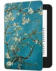 HUASIRU Etui do malowania na wszystkie nowe Kindle (10. generacja - tylko wydanie 2019 — nie pasuje do Kindle Paperwhite lub Kindle Oasis), kwiat migdałów