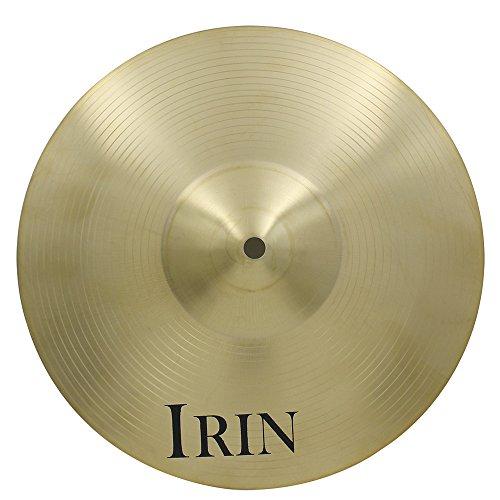ammoon 30,5cm/35,6cm/40,6cm/45,7cm/50,8cm Messing-Legierung Crash Ride Hi-Hat-Becken für Schlagzeug 12 inch
