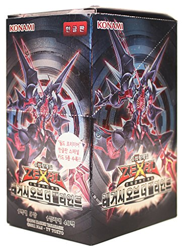 Yu-Gi-Oh! Konami Yugioh Cartes ZEXAL Booster Pack Boîte TCG OCG 200 Cartes L'Heritage des Braves Corée