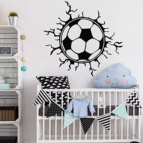 Tianpengyuanshuai voetbaltype wanddecoratie voetbal vinyl kunst wanddecoratie huis slaapkamer sport decoratieve muursticker