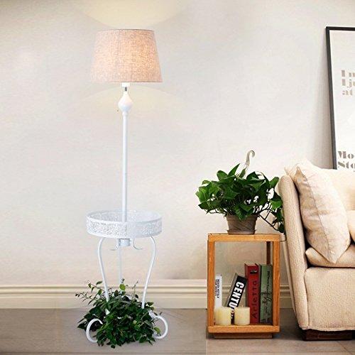 XIN Home vloerlamp, staande led, creatieve vloerlamp woonkamer bedlampje landelijke Scandinavische potplanten Amerikaanse stijl Home tafellamp Europese stijl verticale plank oog 4