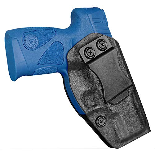 Taurus G2C Holsters Taurus PT111 G2 Holster, KYDEX Concealed Carry IWB Holsters Fit Taurus Millennium G2 G2C Inside Waistband Tactical Belt Pant Holster with Adi. Cant/Retention, RH, Black