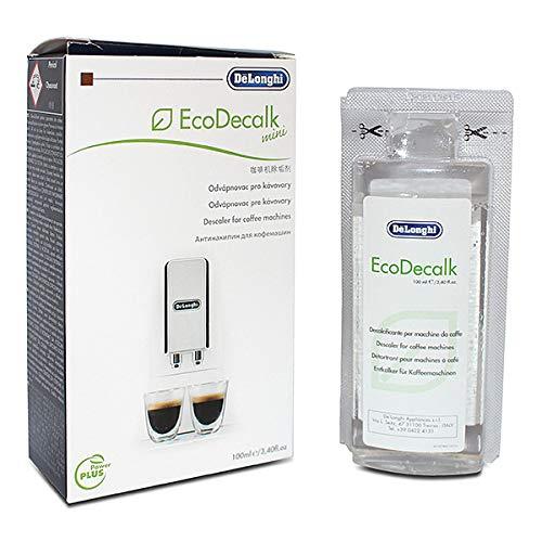 Entkalker für Kaffeemaschinen De\'Longhi 5513295981EcoDecalk, für Mini-Kaffeemaschinen, 100ml