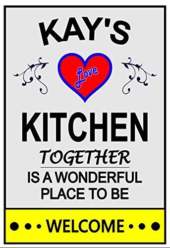 Kay's Love Refrigerator Kitchen Magnet. any for New York Mall Customize name. Excellent