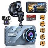 Dual Dash Cam Car Camera - Contain 32GB SD Card,Full HD 1080P Dash