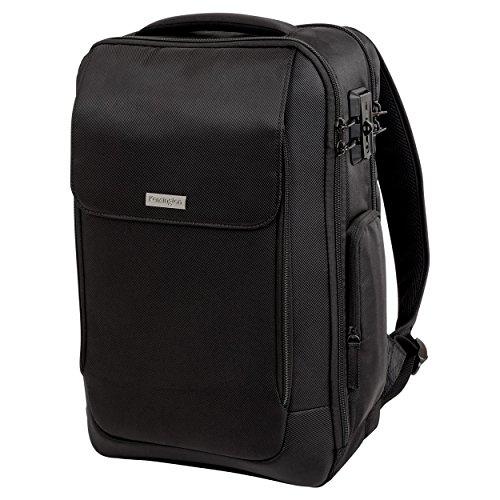 Kensington SecureTrek Laptop-Rucksack für 15,6 Zoll Laptop und 10 Zoll Tablet, SecureTrek-Schlossverstärkung für maximale Sicherheit, Idealer Rucksack für Geschäftsreisen, K98617WW