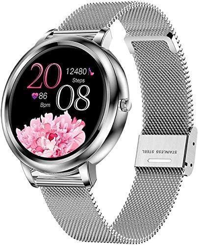Reloj deportivo inteligente para mujer, con detector de...