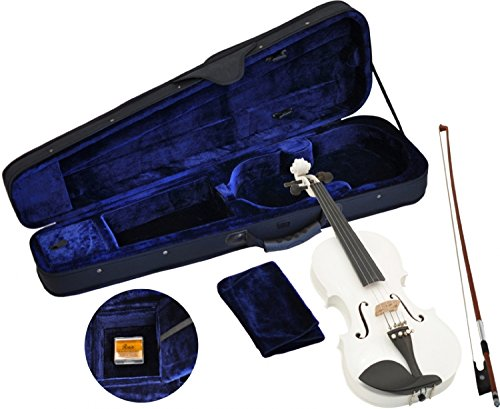 Steinbach 4/4 Geige im SET, weiß, handgearbeitet