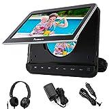 NAVISKAUTO 10,1' DVD Player für Auto Tragbarer DVD Player 1080P HD Bildschirm Kopfstütze Monitor...